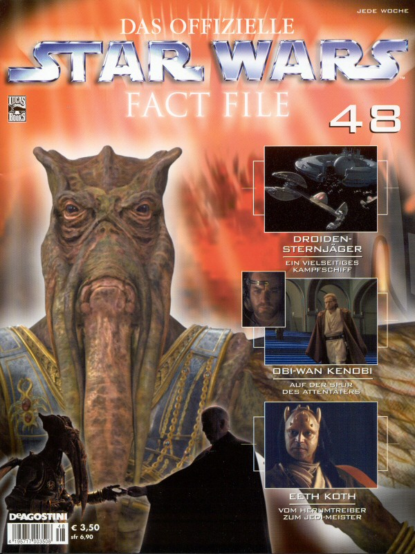 Official Star Wars Fact File #48