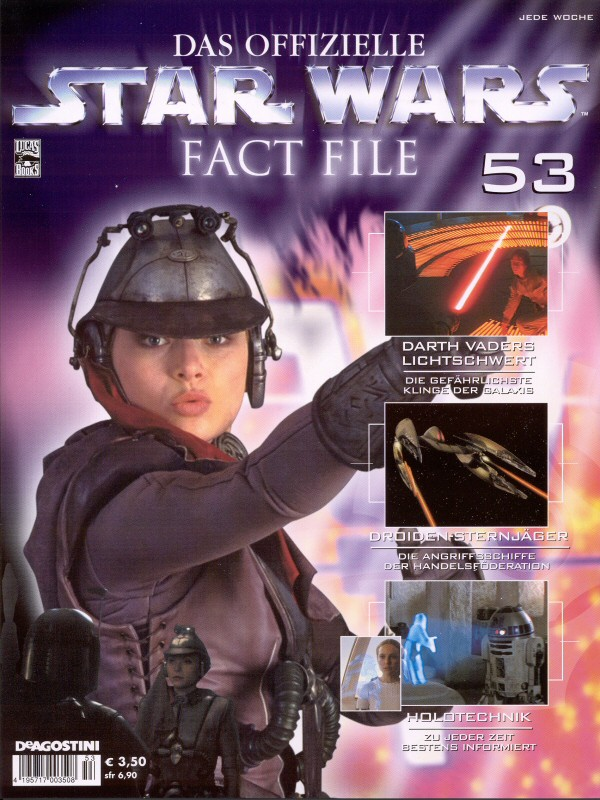 Official Star Wars Fact File #53