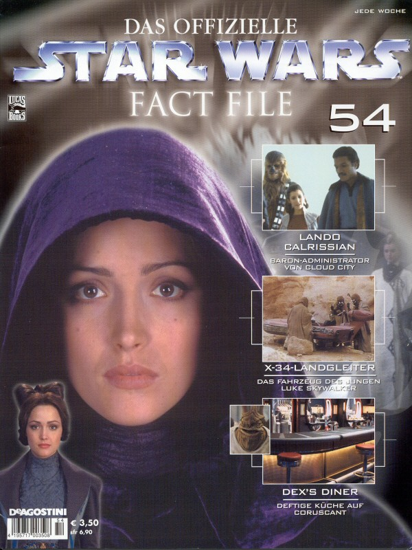 Official Star Wars Fact File #54