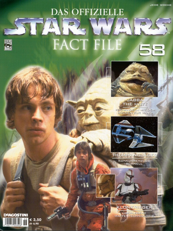 Official Star Wars Fact File #58
