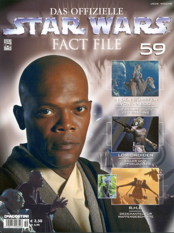 Official Star Wars Fact File #59