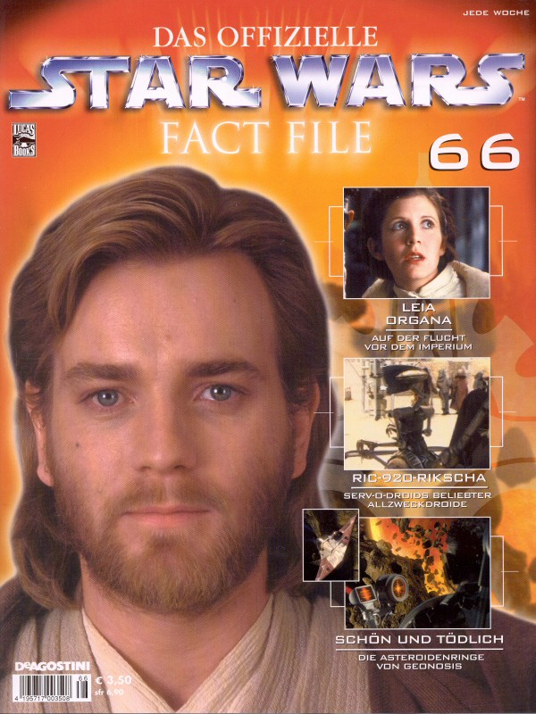 Official Star Wars Fact File 66