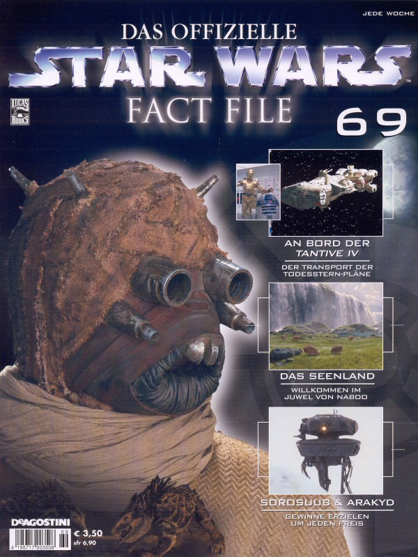 Official Star Wars Fact File #69