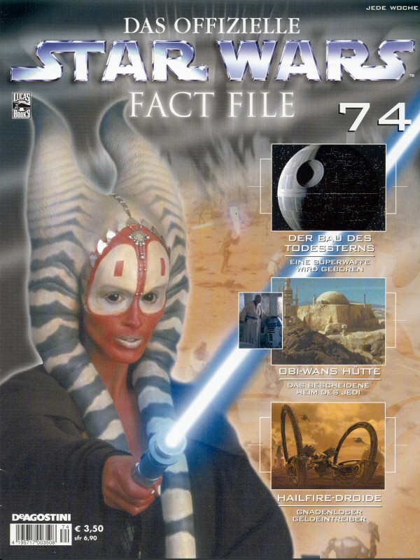 Official Star Wars Fact File 74