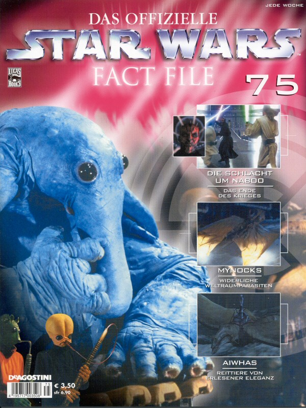 Official Star Wars Fact File 75