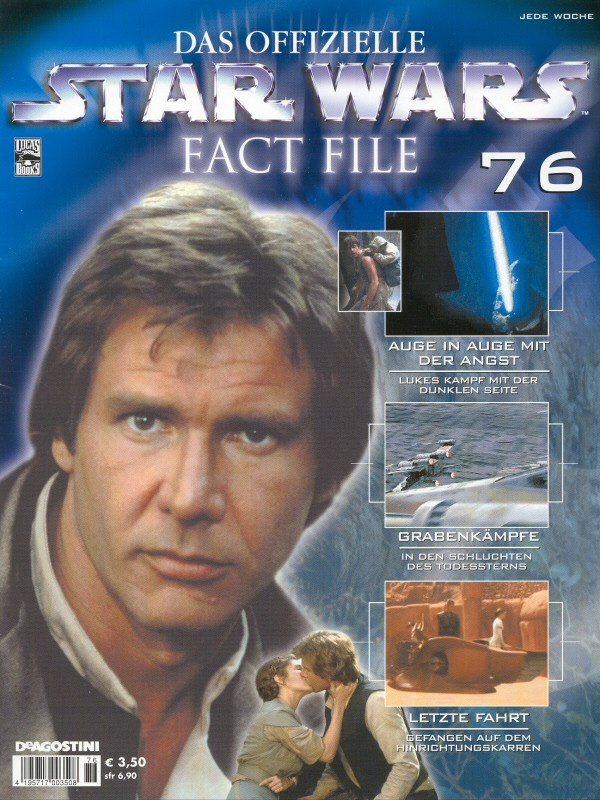 Official Star Wars Fact File #76