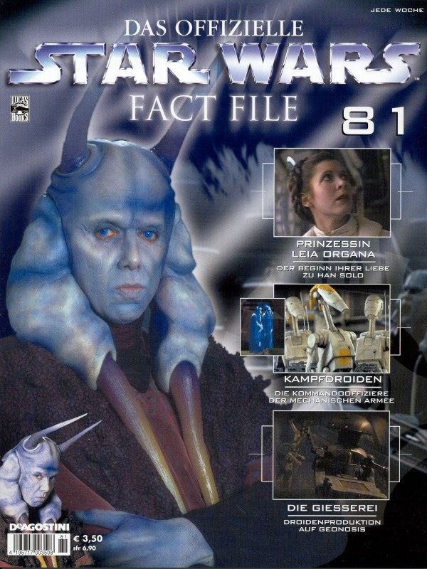 Official Star Wars Fact File #81