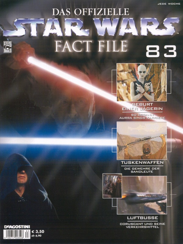 Official Star Wars Fact File #83