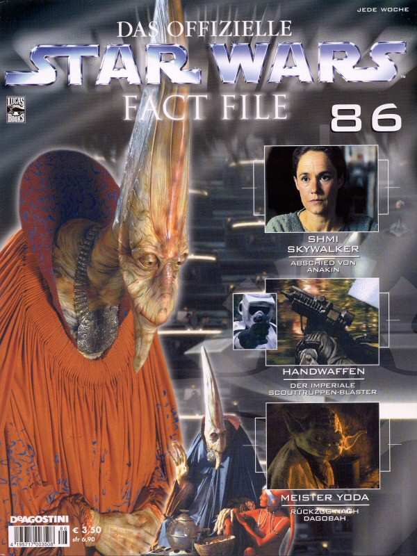 Official Star Wars Fact File #86