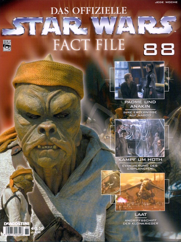 Official Star Wars Fact File #88