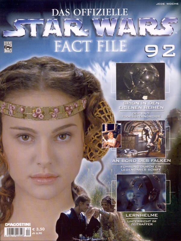 Official Star Wars Fact File #92