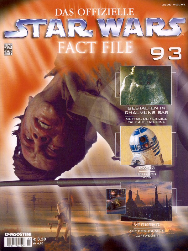 Official Star Wars Fact File #93