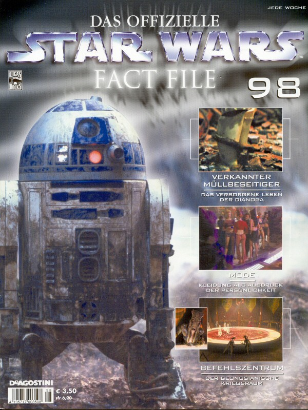 Official Star Wars Fact File #98