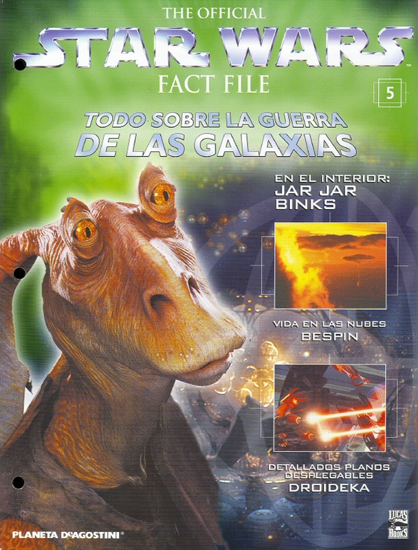 Official Star Wars Fact File 5
