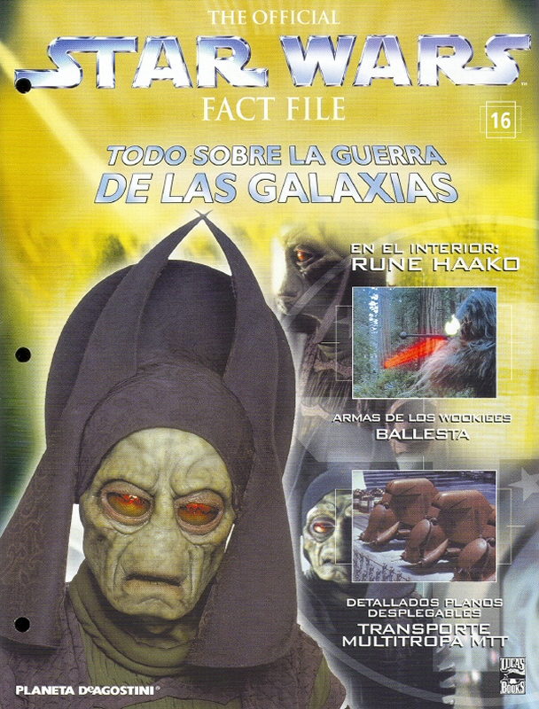 Official Star Wars Fact File #16