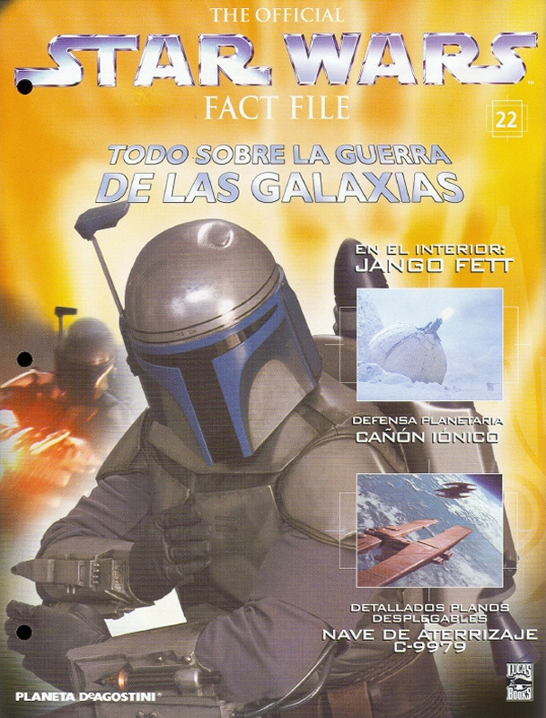 Official Star Wars Fact File #22