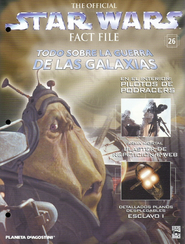 Official Star Wars Fact File #26