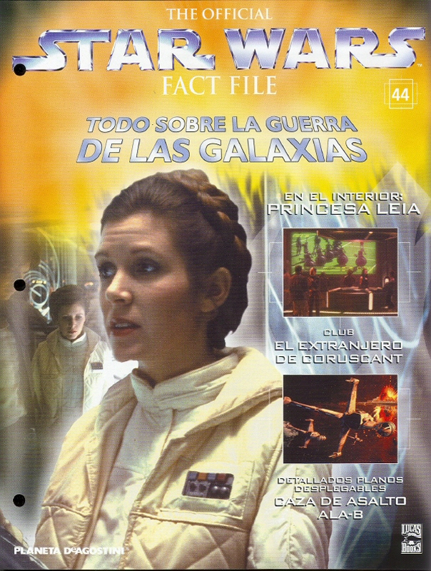 Official Star Wars Fact File 44