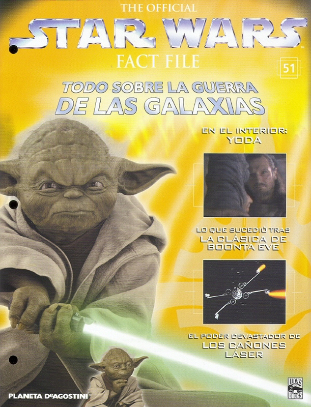 Official Star Wars Fact File #51
