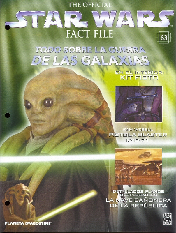 Official Star Wars Fact File 63