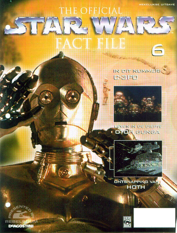 Official Star Wars Fact File 6