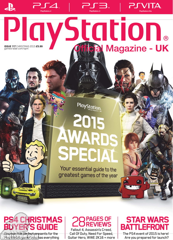 PlayStation: The Official Magazine 117 Christmas 2015