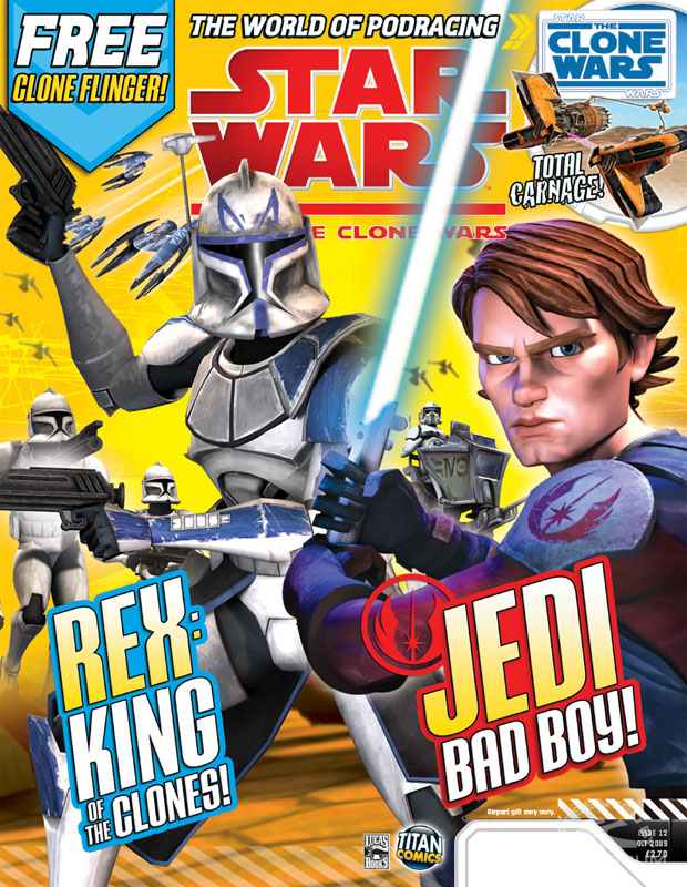 Star Wars: The Clone Wars Comic 12