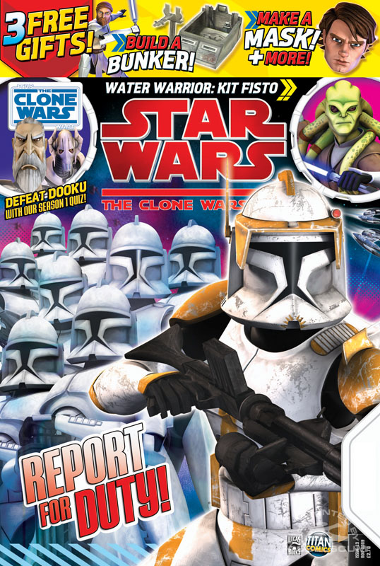 Star Wars: The Clone Wars Comic 13