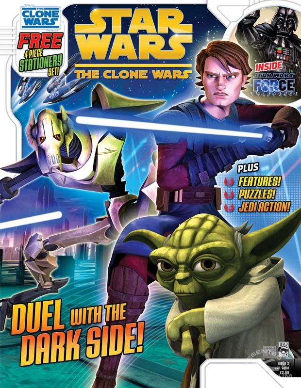 The Clone Wars Comic, Vol 5 #2 January 2009