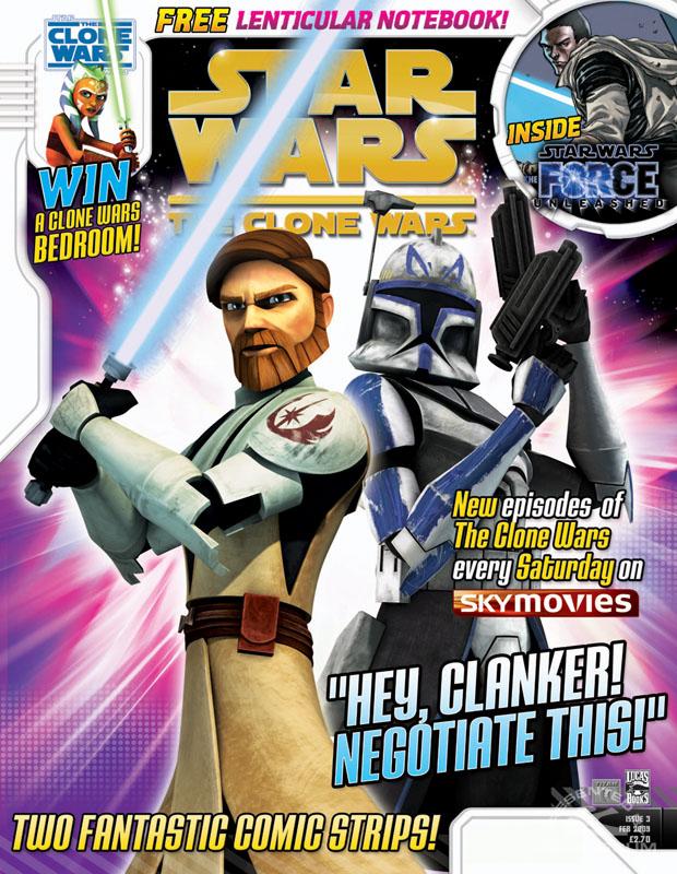 The Clone Wars Comic, Vol 5 #3 February 2009