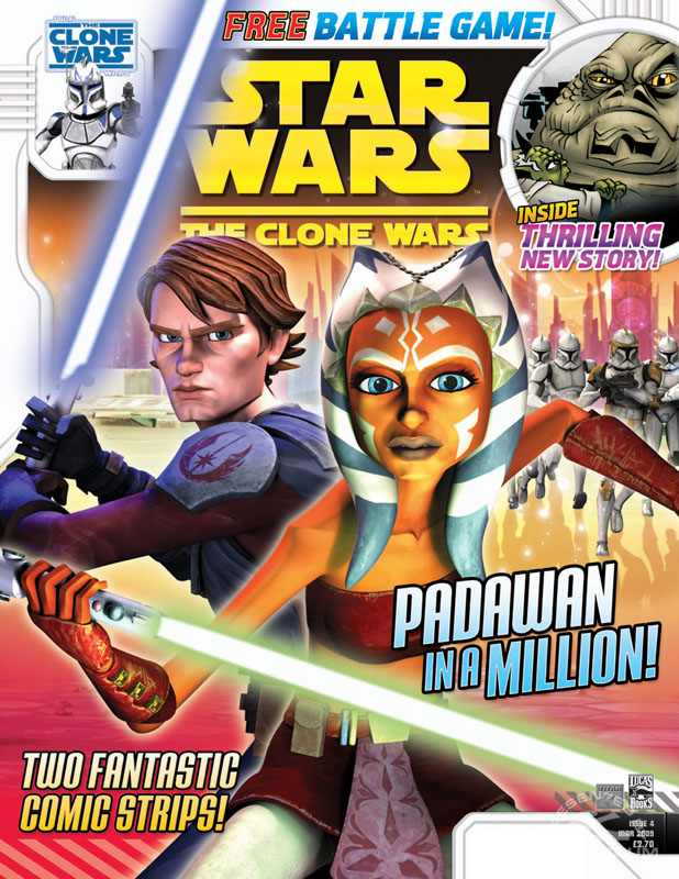 Star Wars: The Clone Wars Comic 4