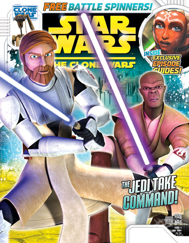 Star Wars: The Clone Wars Comic, Vol 5 5