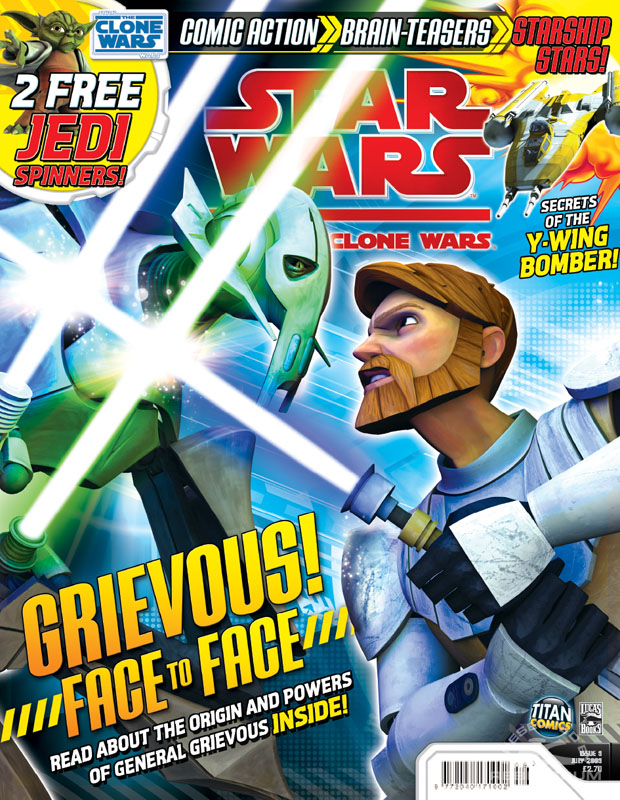 Star Wars: The Clone Wars Comic 9