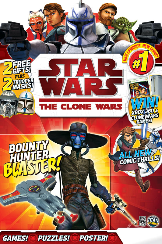 Star Wars: The Clone Wars Comic 1