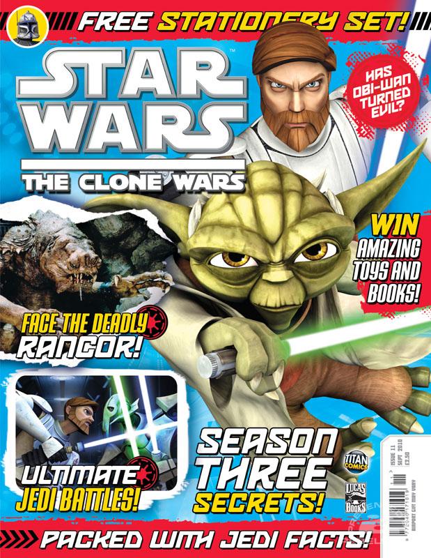 The Clone Wars Comic, Vol 6 #11 September 2010