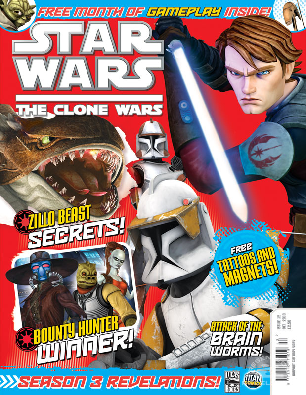 The Clone Wars Comic 12 September 2010