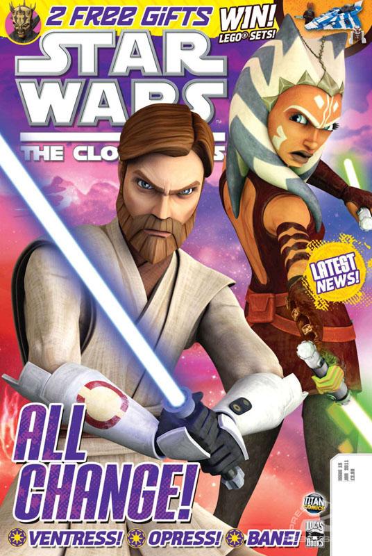 The Clone Wars Comic, Vol 6 #15 January 2011