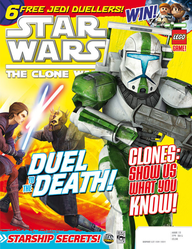 Star Wars: The Clone Wars Comic 18