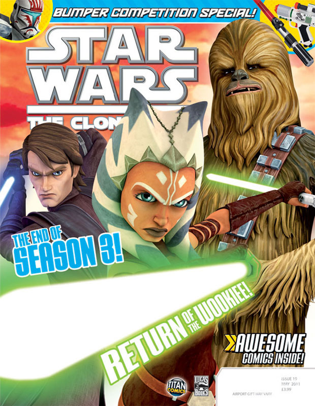 Star Wars: The Clone Wars Comic 19