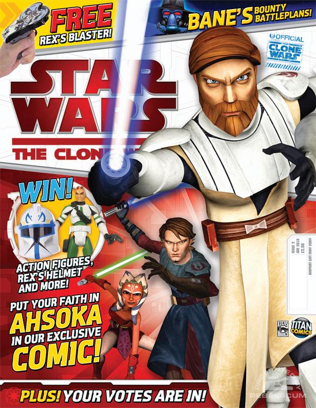 The Clone Wars Comic, Vol 6 #2 January 2010
