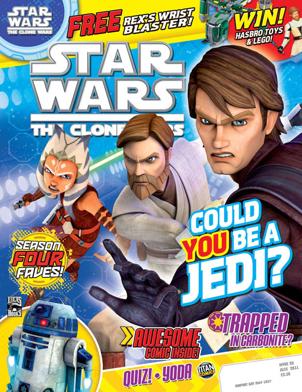 The Clone Wars Comic, Vol 6 #20 June 2011