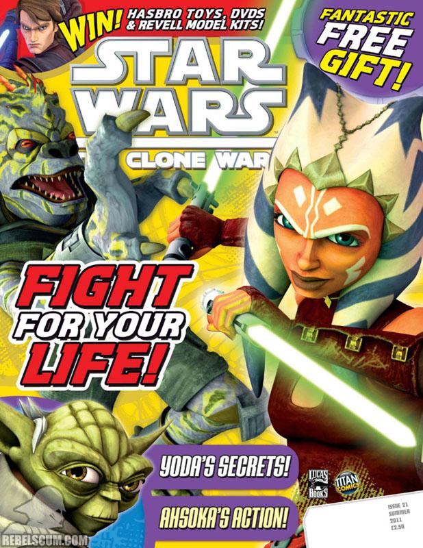 The Clone Wars Comic, Vol 6 #21 Summer 2011