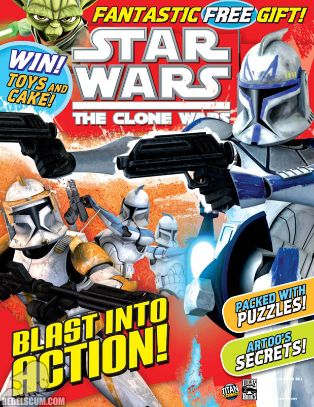 The Clone Wars Comic 22 July 2011
