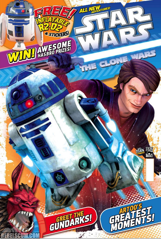 The Clone Wars Comic 23 July 2011