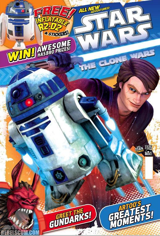 The Clone Wars Comic, Vol 6 #23 August 2011