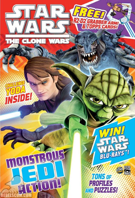 The Clone Wars Comic, Vol 6 #24 September 2011