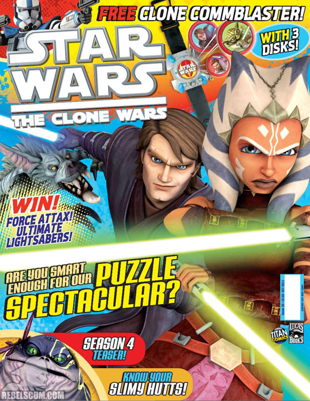 The Clone Wars Comic, Vol 6 25 October 2011