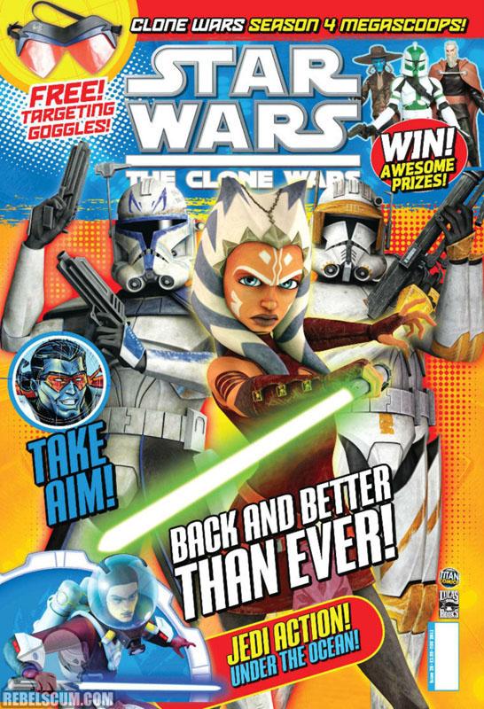 The Clone Wars Comic, Vol 6 26 November 2011
