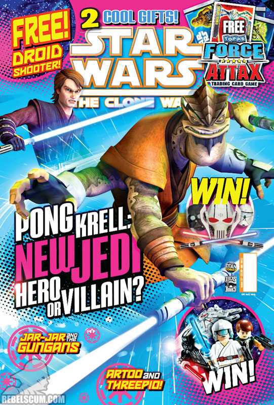 The Clone Wars Comic, Vol 6 27 December 2011