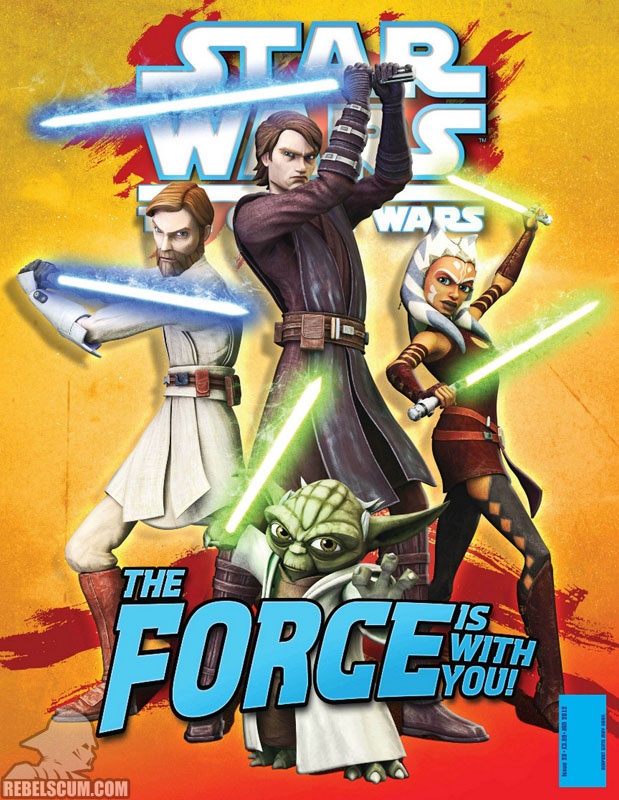 The Clone Wars Comic, Vol 6 #28 January 2012
